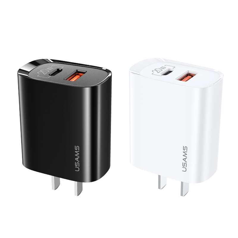 US-CC120 T35 QC3.0+PD3.0快充充电器 20W 中规