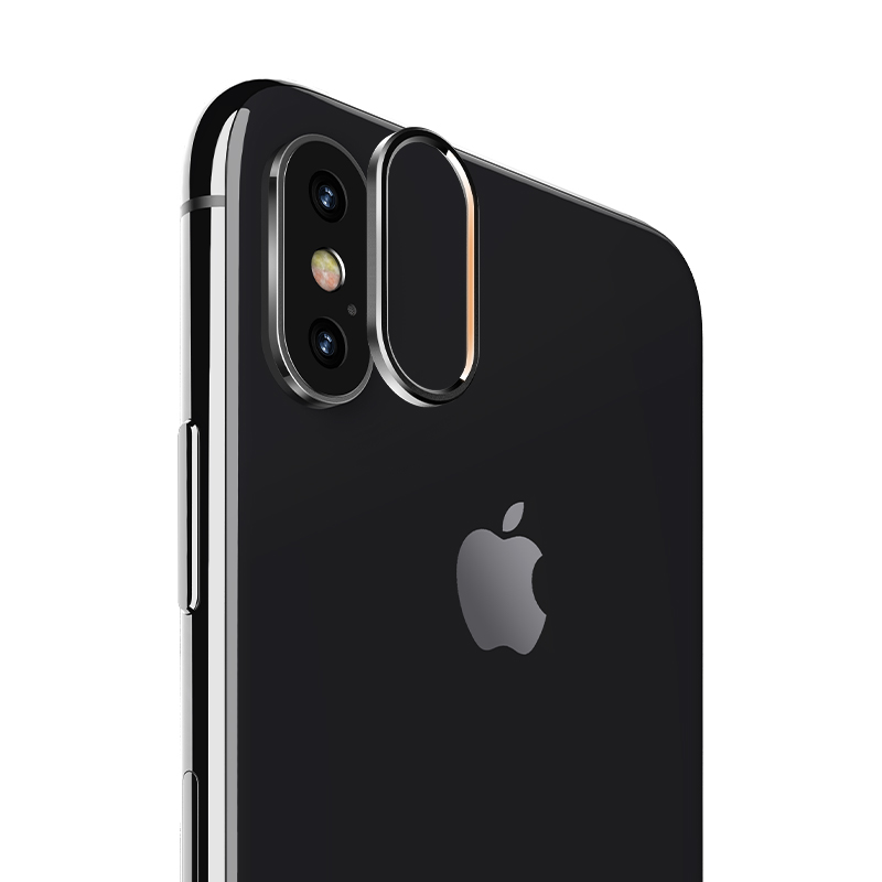 iPhoneX Metal Lens Protective Ring