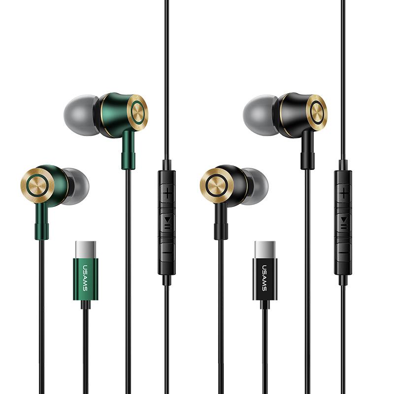 US-SJ482 EP-43 Type-C In-ear Metal Earphone