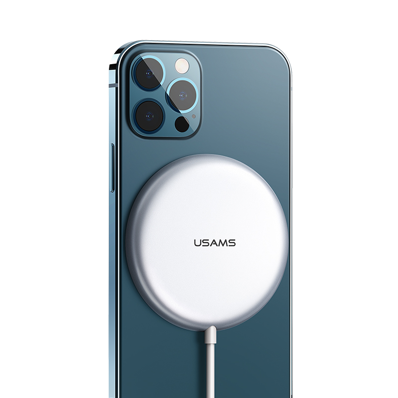 US-CD160 W2 Alloy Super-thin Magnetic Fast Wireless Charger