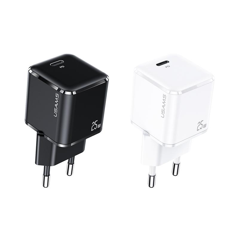 US-CC140 T42 25W超级硅单口PD快充充电器 欧规